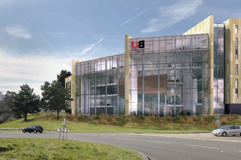 artists impression of the Bournemouth Gateway building
